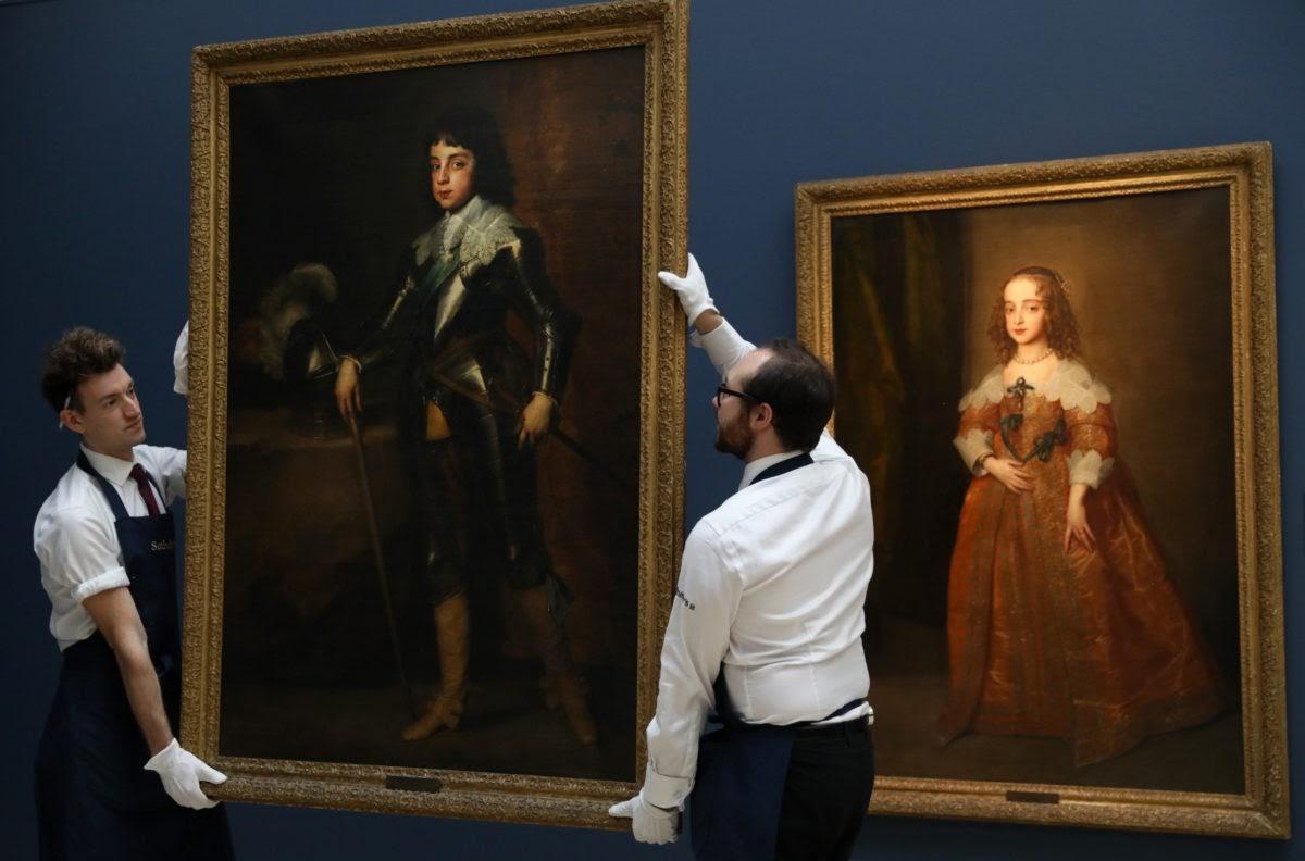You are currently viewing Самые дорогие работы Антониса ван Дейка, выставленные на аукцион